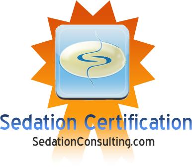 sedation cert. logo